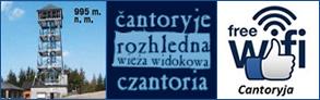 Czantoria - wieża widokowa |  Čantoryje - rozhledna Logo